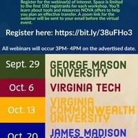 Transfer Resources Advising Series--Virginia Tech
