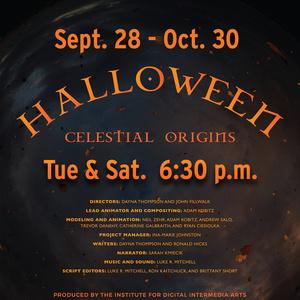 Halloween Celestial Origins Poster