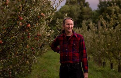South Hill Cider Orchard Walk