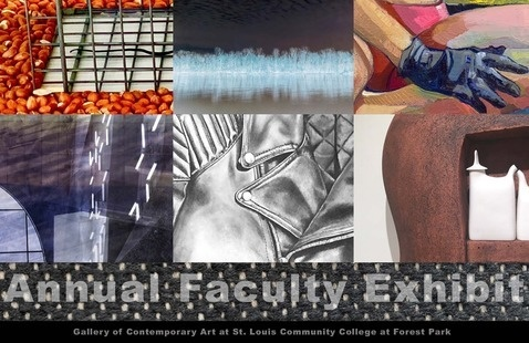 """Annual Faculty Exhibit"" Featuring Works by Ahzad Bogosian, Catherine Burge, James Bruenger, Mario Carlos, Jamie Kreher, Metra Mitchell, David Moore, Norleen Nosri, Sarah Paulsen, Zackary Petot, Daniel Stumeier, Roger Trietley, Dan Wine & Thomas Zirkle."