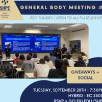 SHPE FIU Game Night SOCIAL & General Body Meeting #2