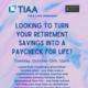 TIAA Live Webinar
