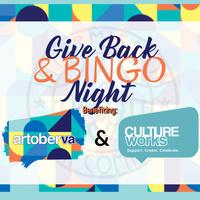 Give Back & Bingo Night - artoberVA & CultureWorks