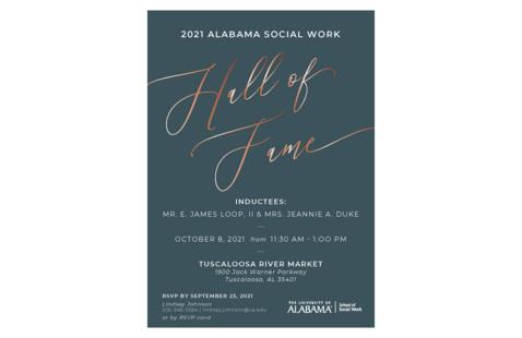 2021 Alabama Social Work Hall of Fame