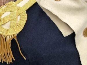 Blue, Gold, & Buff: The Recreation of Tench Tilghman's Uniform with Historic Tailor Neal Hurst