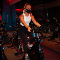 Group Fitness: Latin Themed Cycle Class for Homecoming Week