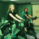 Group Fitness: Disco Themed Cycle Class for Homecoming Week