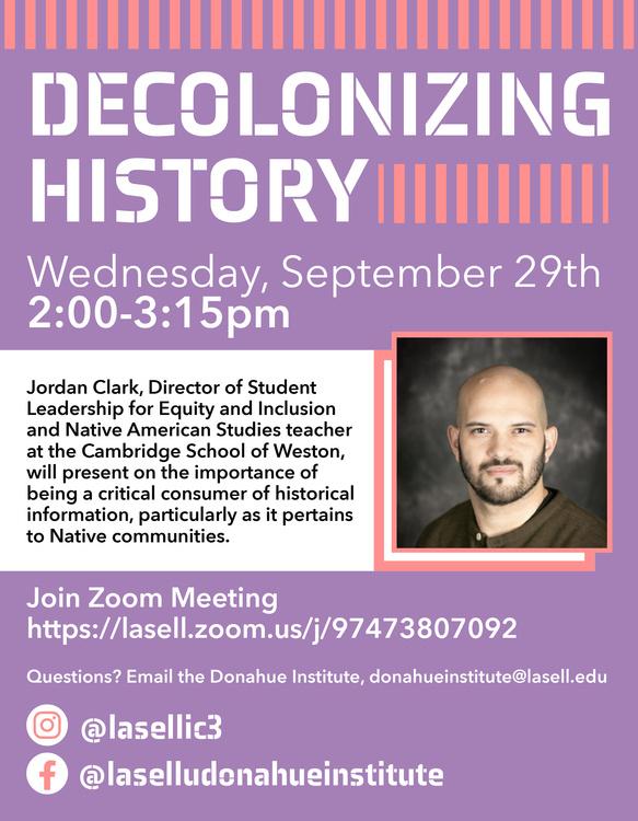 Decolonizing History - Recording Screening