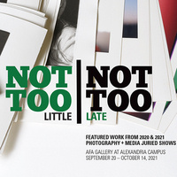 NOT TOO LITTLE NOT TOO LATE - Photography and Media Exhibition