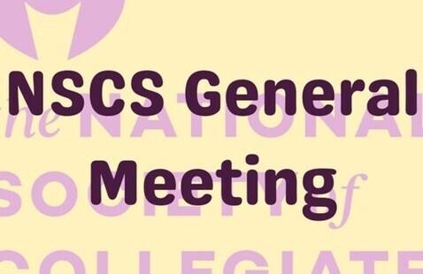NSCS General Meeting