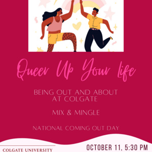 Queer Up Your Life - Out and About Mix & Mingle