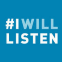 I Will Listen Week - Take the Pledge and T-shirt Giveaway!