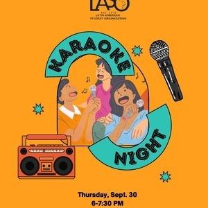 LATINX Heritage Month LASO Karaoke Event