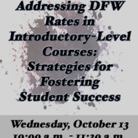 Addressing DFW Rates in Introductory-Level Courses: Strategies for Fostering Student Success