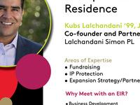 PIHE's Entrepreneur in Residence: Kubs Lalchandani '99, JD '04