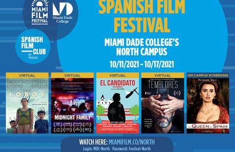 North Campus - SPANISH FILM FESTIVAL IN CELEBRATION OF HISPANIC HERITAGE MONTH