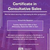 Certificate in Consultative Sales