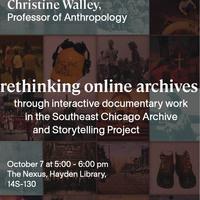 Digital Humanities Workshop: Prof. Christine Walley