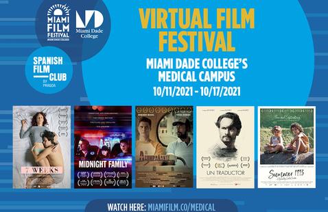 Medical Campus - SPANISH FILM FESTIVAL IN CELEBRATION OF HISPANIC HERITAGE MONTH