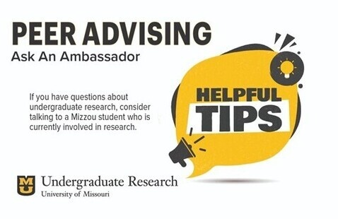Peer Advising - Undergraduate Research - Speech, Lang, & Hear Sci-BHS