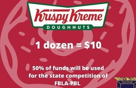 PBL Fundraising Krispy Kreme