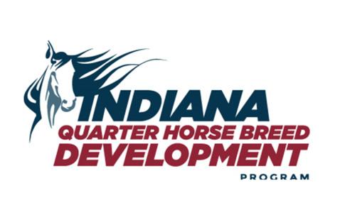 quarter horse breed development logo