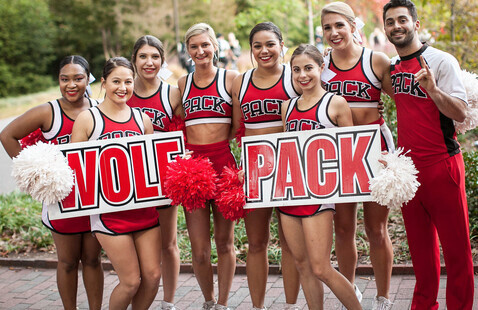 Red and White Week Pep Rally