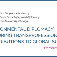 Environmental Diplomacy: Exploring Transprofessional Contributions to Global Survival