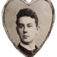 Photo of John Kerr Branch in his youth, original owner of the Branch House