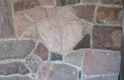 CCC Heart Stone at Pokagon SP