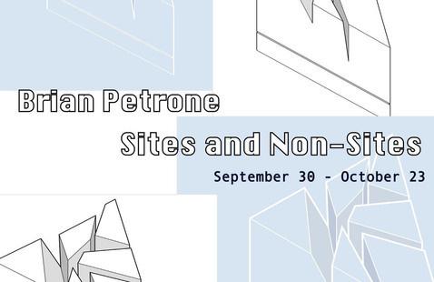Artist's Talk: Brian Petrone, Sites and Non-Sites