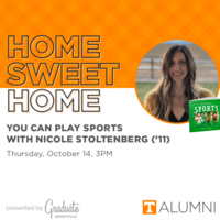 Home Sweet Home: You Can Play Sports with Nicole Stoltenberg ('11)