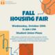 Fall Housing Fair
