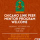 Chicano Link Peer Mentor Welcome Event