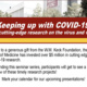 Keeping up with COVID-19: USC's cutting edge research on the virus and vaccine