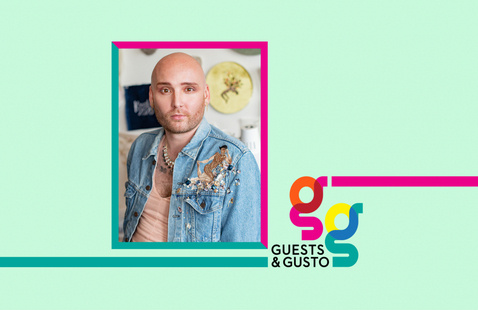 Embellish your world with artist, designer, SCAD alum Michael-Birch Pierce on 'Guests and Gusto'