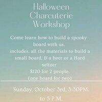 Halloween Charcuterie Workshop