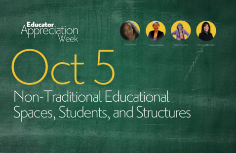 EAW21: Non-Traditional Educational Spaces, Students, and Structures