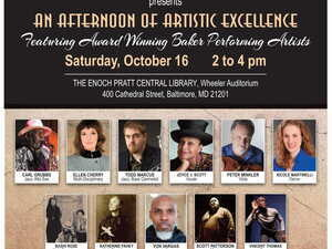 An Afternoon of Artistic Excellence: Featuring Award Winning Baker Performing artists