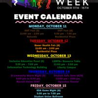 LGBTQ+ Resource Table