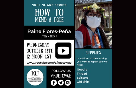 Skill Share Series: How to Mend a Hole