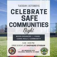 Celebrate Safe Communities Night