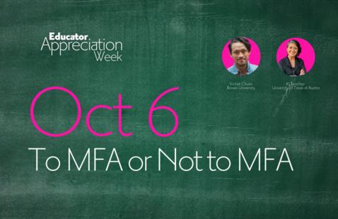EAW21: To MFA or Not to MFA