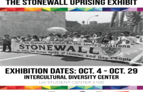LGBTQ+ History Month 50 Years: The Stonewall Uprising Traveling Exhibit