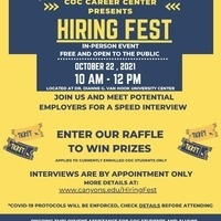 College of the Canyons' Hiring Fest