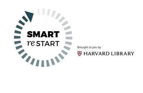 Smart restart icon brought to you by Harvard Library