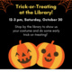 Trick-or-Treating at the Library