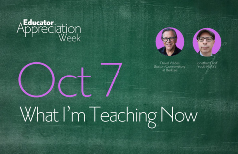 EAW21: What I'm Teaching Now