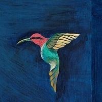 Hummingbird from Aztlan Topializti Mural , EMU