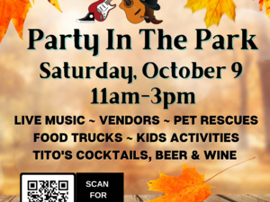 PARTY IN THE PARK at the Baltimore Humane Society!